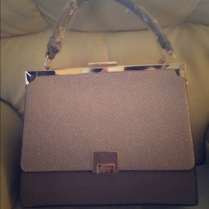 NWT Dune of London Taupe Bag
